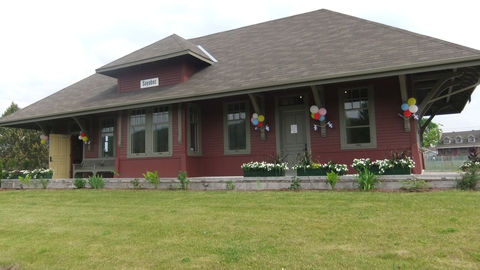 Sayabec Heritage Train Station