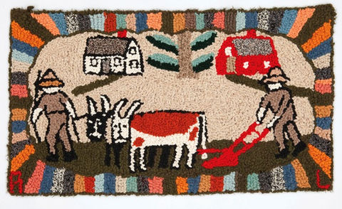 Home economics : 150 years of canadian hooked rugs